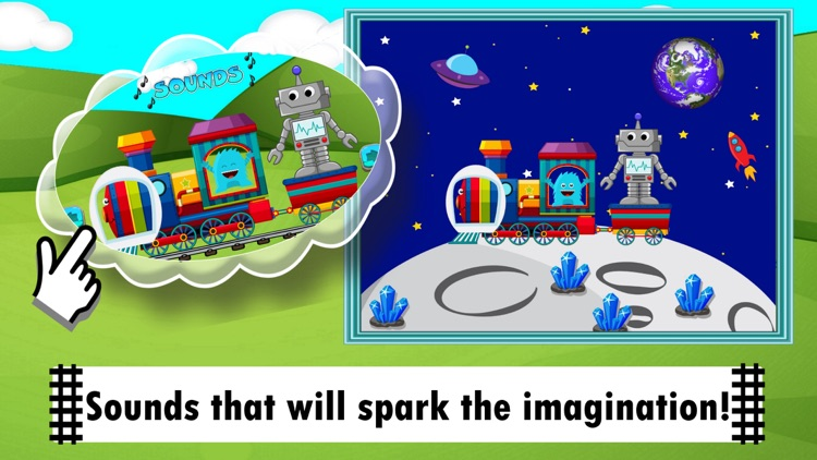 Trains For Kids! Toddler Games