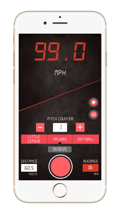 download Baseball Pitch Speed Radar Gun apps 3
