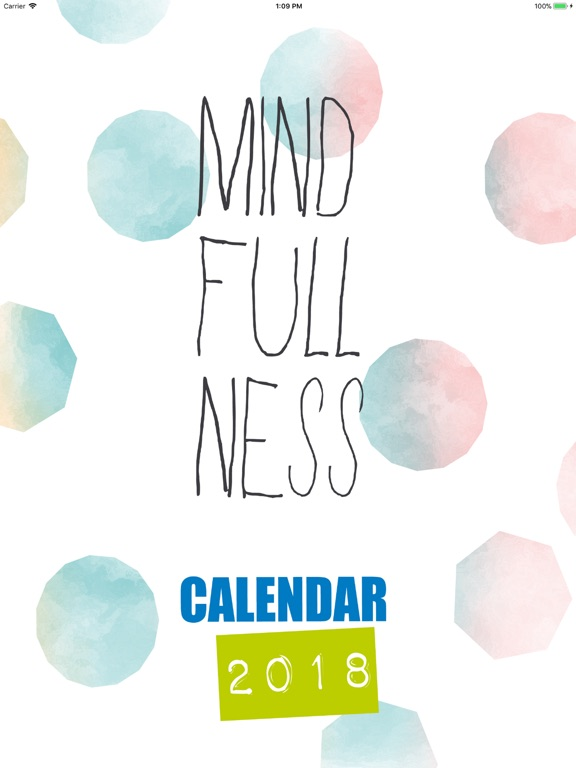 Mindfulness Calendar 2018 screenshot 6