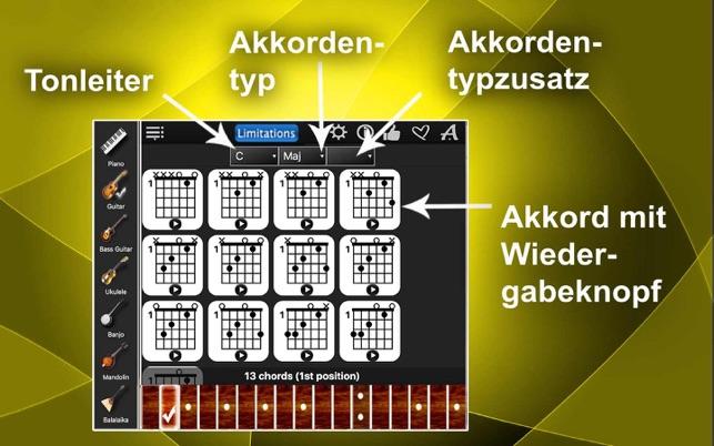 Akkord-Kompass Lite Screenshot