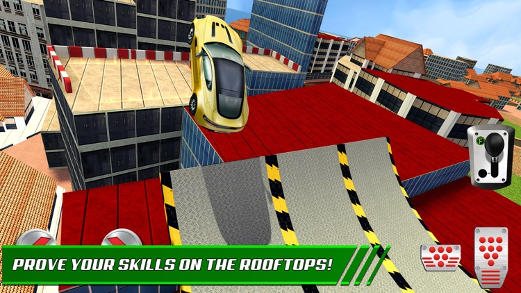 Roof Jumping: Stunt Driver Sim screenshot-4