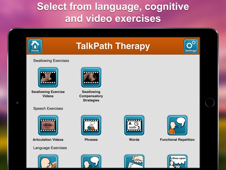 Lingraphica TalkPath Therapy screenshot-2