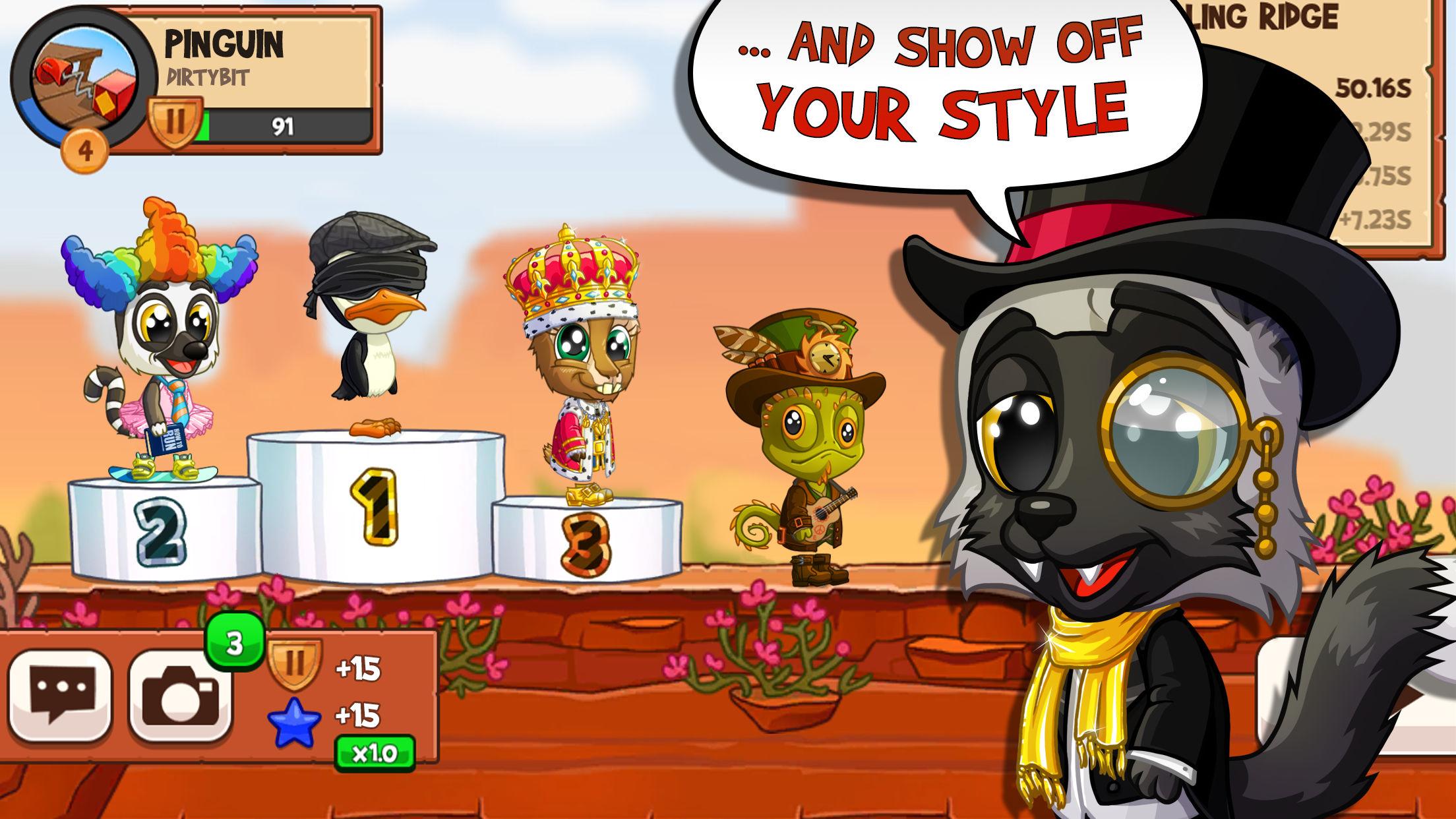 Fun Run 3 - Multiplayer Games Screenshot