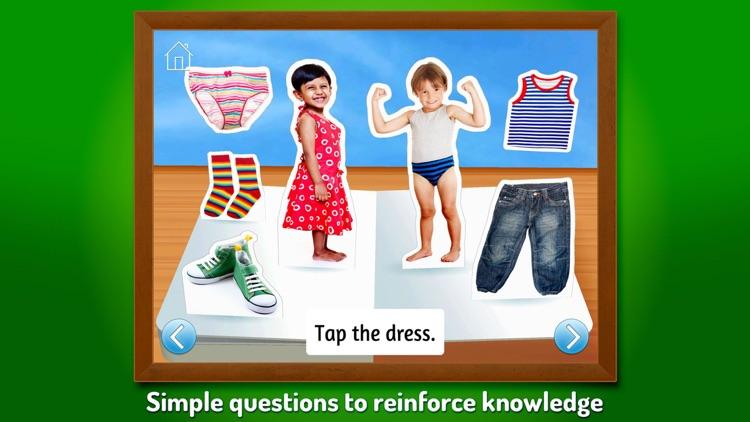What Do I Wear? ~ Touch, Look, Listen screenshot-3