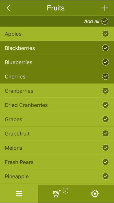 Healthy Kidneys Grocery Listのおすすめ画像3