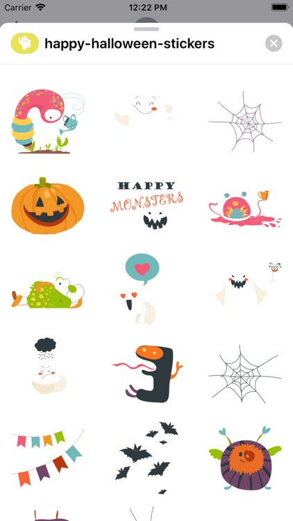 Happy Monsters Halloween Stkrs screenshot-5
