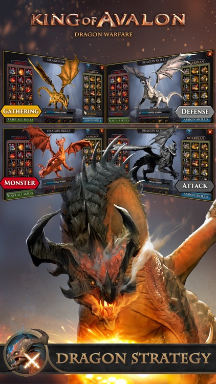 King of Avalon: Dragon Warfare screenshot-1