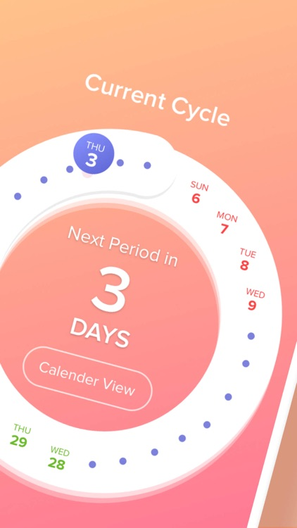 Period Tracker App - Eve