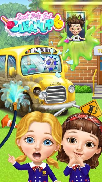 Sweet Baby Girl School Cleanup screenshot 1
