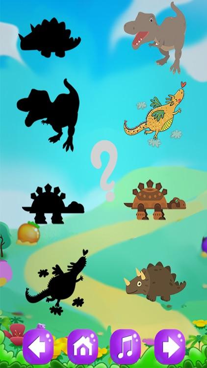 恐龙拼图:儿童游戏-挖掘侏罗纪 screenshot-3