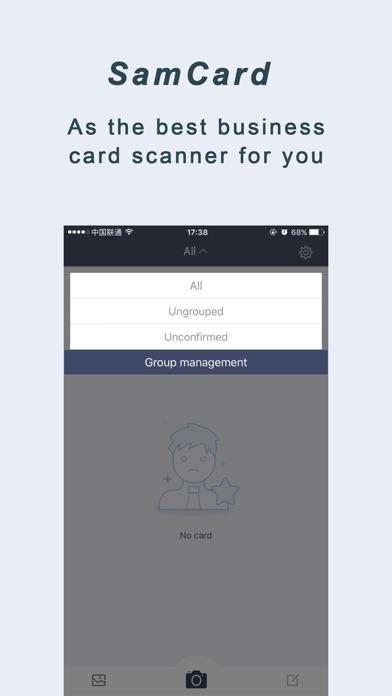 Screenshot #7 for Business card scaner--Sam Full