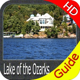 Lake of the Ozarks - fishing maps HD gps charts