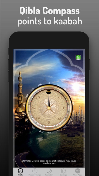 Islamic Qibla - Prayer Times screenshot-2