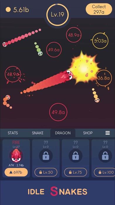 Idle Snakes-Control Balls screenshot 4