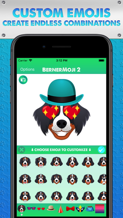 BernerMoji 2 Screenshots