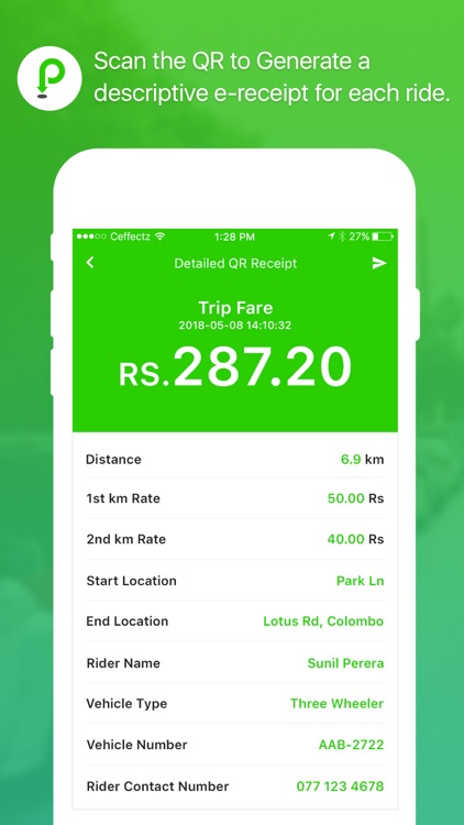 ParkMeApp (Sri Lanka) screenshot-8