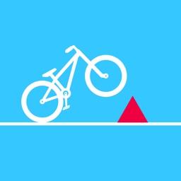 Bike Dash: Backflip Trice Race