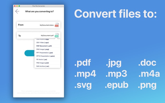 The File Converter on the Mac App Store