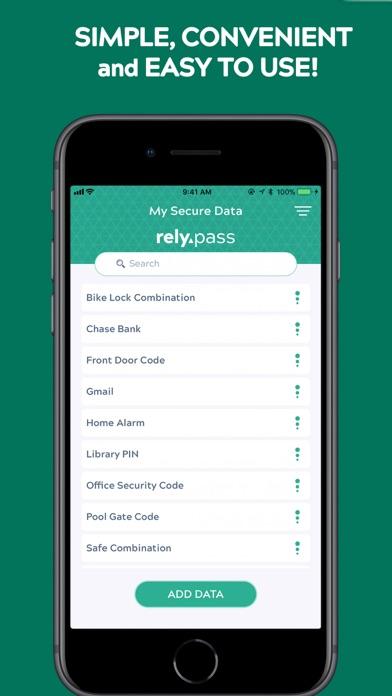 Screenshot #3 for RelyPass