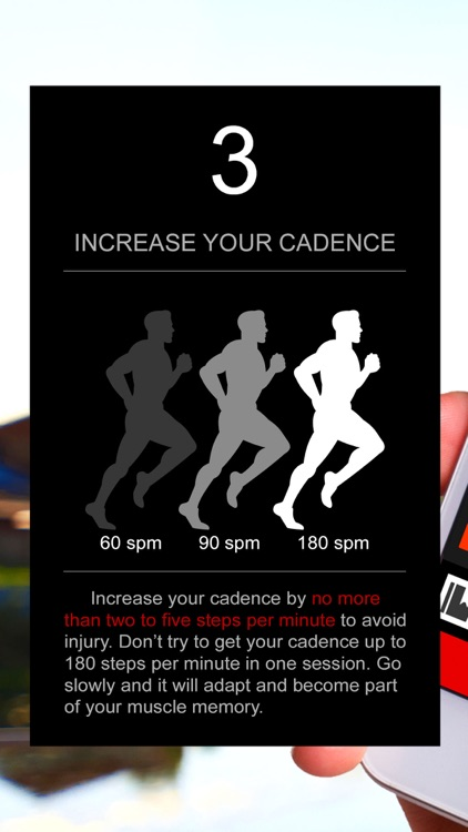 Cadence Trainer to Run Faster screenshot-3