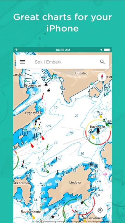 Embark:Offline Nautical charts screenshot-0
