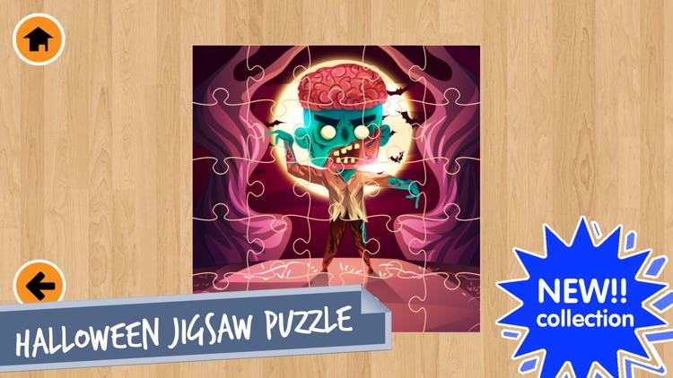 Halloween Jigsaw Puzzles Game! screenshot-3