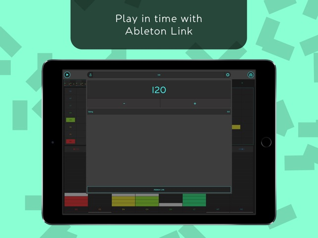 SNAP - Reactable Drum Machine Screenshot