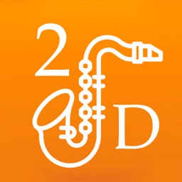 2D Saxophone Fingering Chart