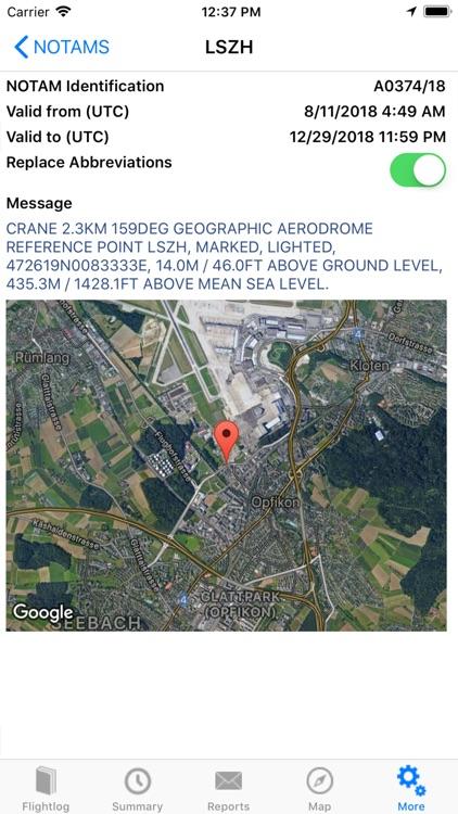 ROTAIR FlightLog screenshot-6
