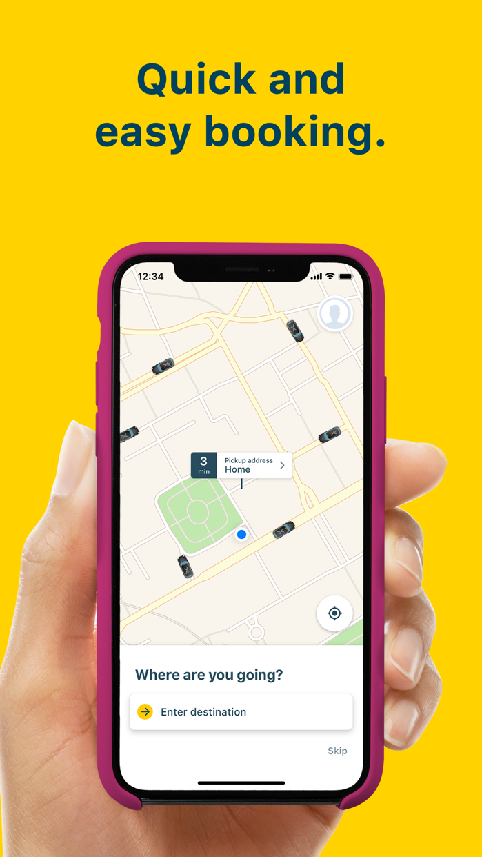 mytaxi: Tap & Move Freely Screenshot