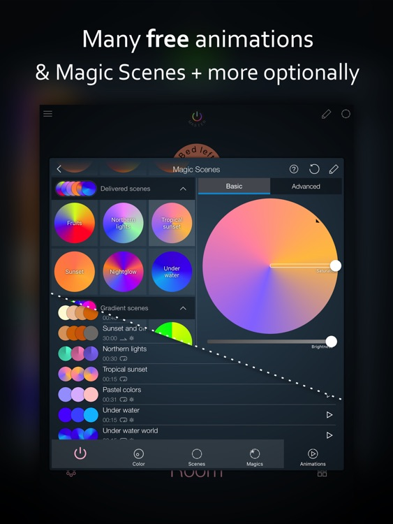 iConnectHue HD for Philips Hue screenshot-3