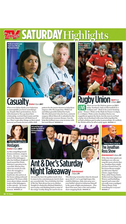 TV Times Magazine screenshot-2