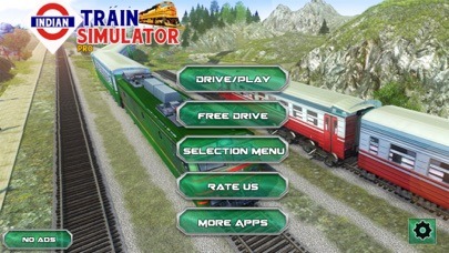 Indian Train Racing Simulatorのおすすめ画像1
