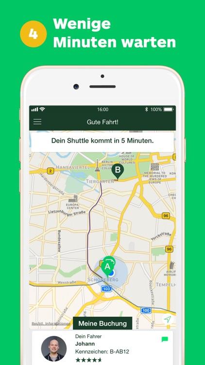 CleverShuttle: Dein Fahrdienst screenshot-3