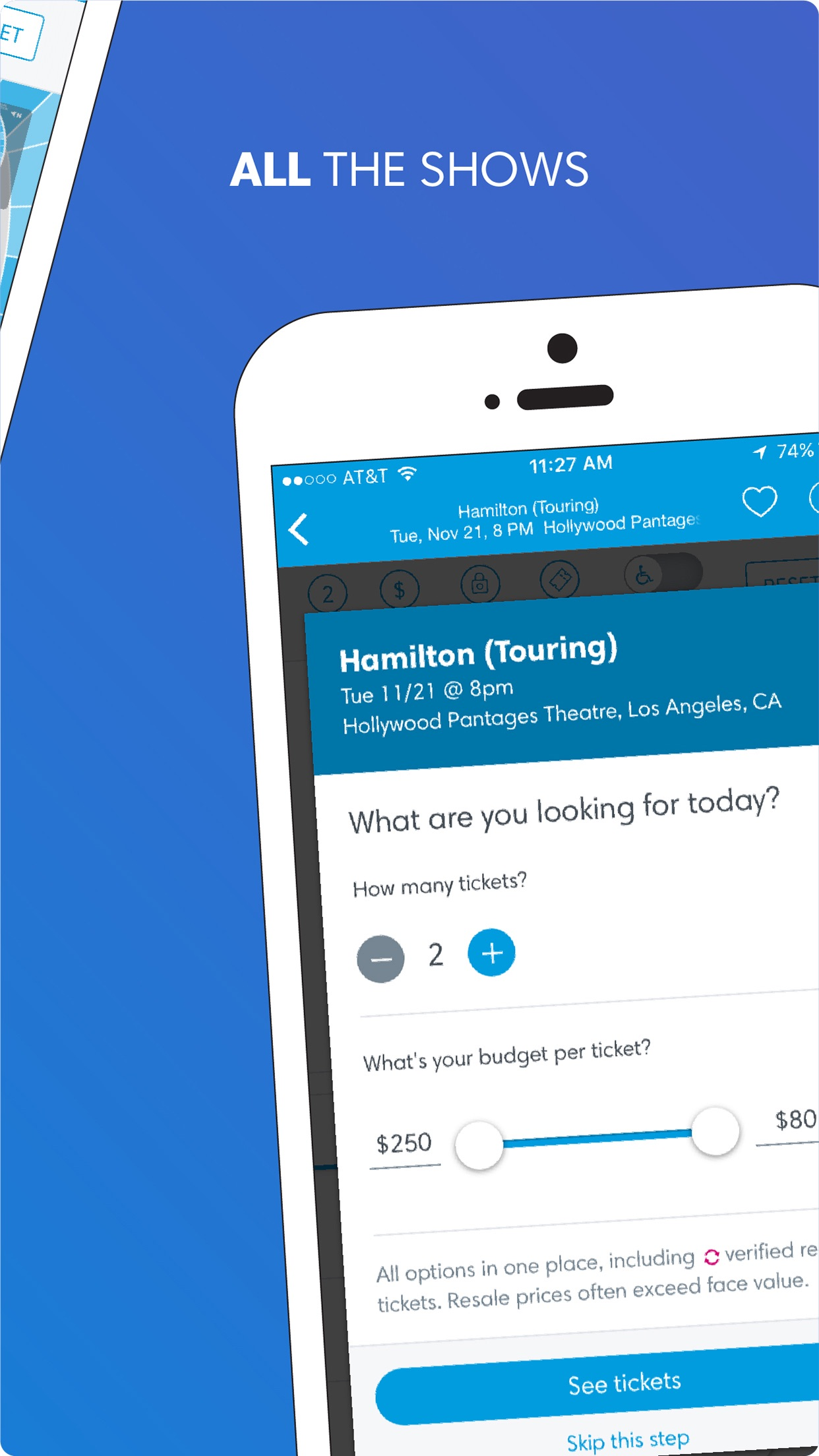 Ticketmaster Screenshot