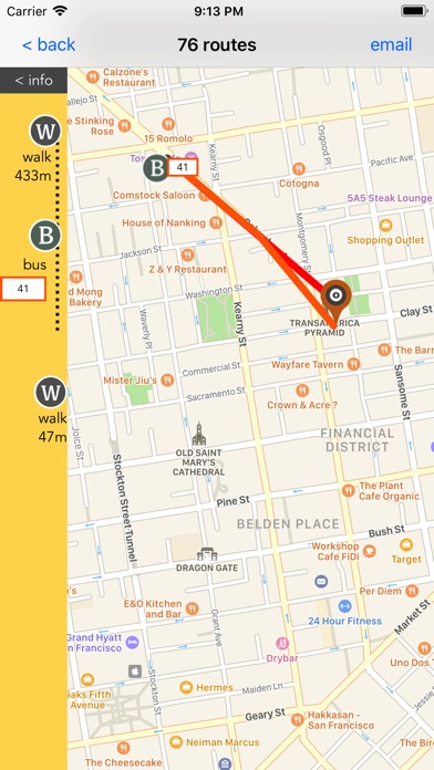San Fransisco Public Transport screenshot 3