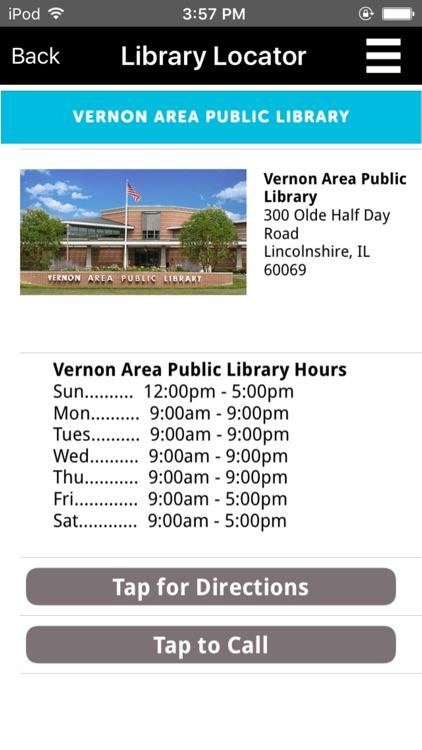 Vernon Area Public Library Mobile screenshot-3