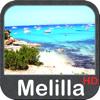 Marine : Melilla HD - GPS Map Navigator