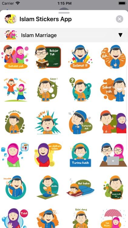 Islam Stickers App screenshot-6