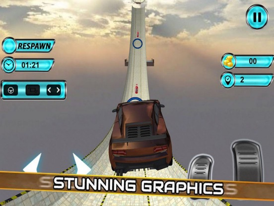 Vertical Ramp Stunts: Car Driv screenshot 6