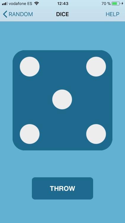 Number generator random - dice screenshot-5