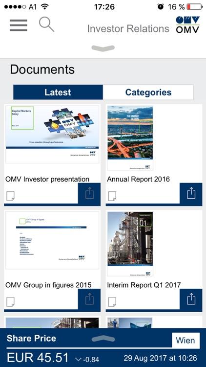 OMV Investor Relations 2.0