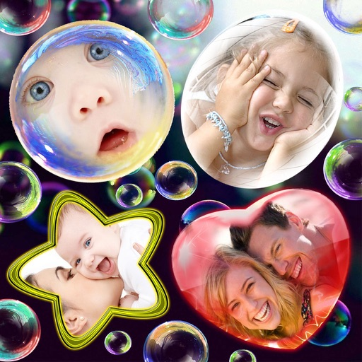 Photo Bubbles and Stickers Pro