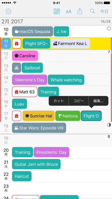 Month Calendar 2 ScreenShot0