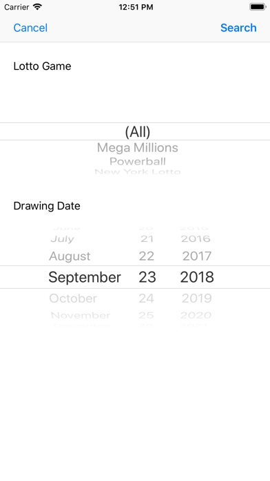 Lotto Results Premium - Mega Millions, Powerball and State