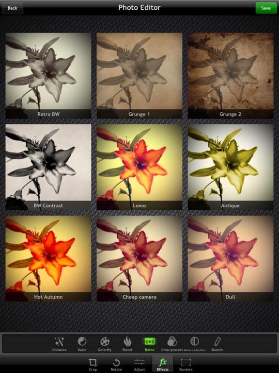 Top Camera - HDR, Slow Shutter, Video, Photo Editor for iPad - Screenshot 2