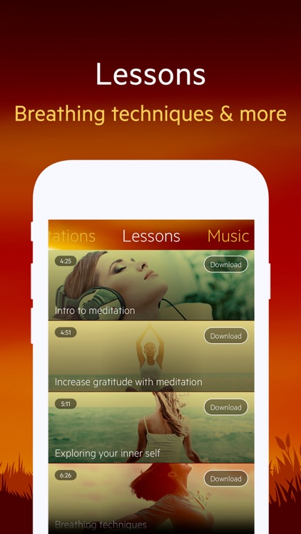 Relax Yoga Music: Relaxing Sounds Studio & Breathe screenshot-3