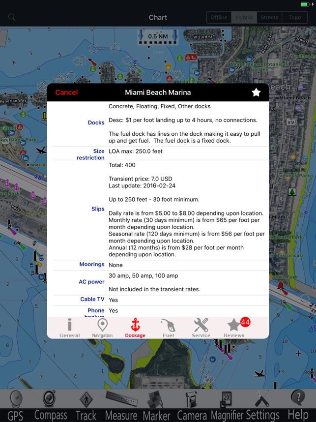 Lake Norman Nautical Chart Pro on
