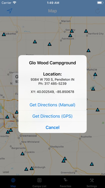 Indiana – Camping & RV spots screenshot-1