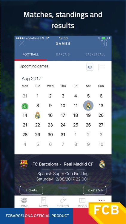 FC Barcelona Official App screenshot-1